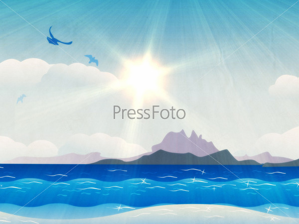 Фотография на тему Острова в океане