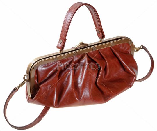 Фотография на тему Кожаная сумка в стиле ретро