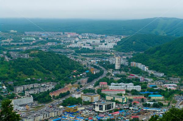 Фотография на тему Петропавловск-Камчатский, Дальний Восток, Россия. Городской пейзаж
