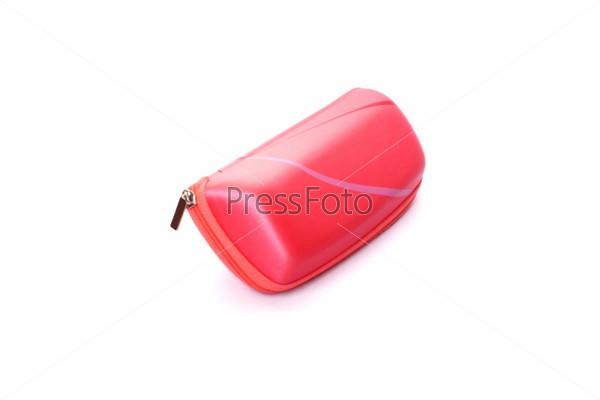 Розовый футляр для солнцезащитных очков
