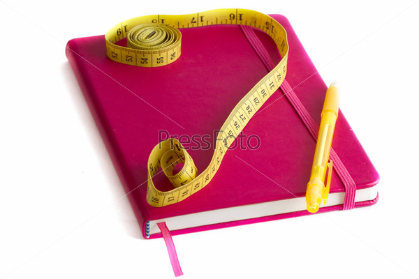 Фотография на тему Сантиметр и дневник питания