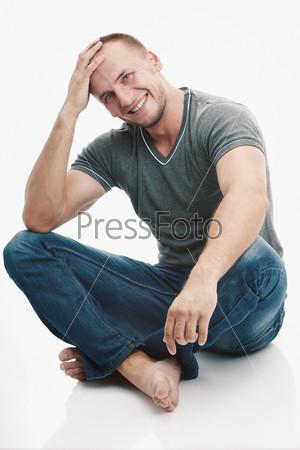 Фотография на тему Мужчина в повседневной одежде