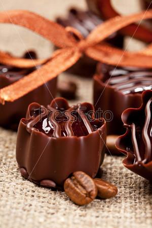 Фотография на тему Шоколадные конфеты