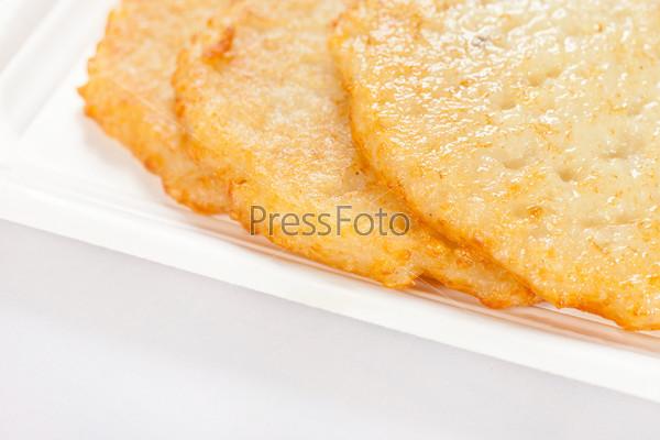 Фотография на тему Картофельные оладьи