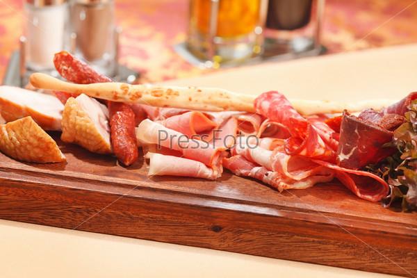 Мясные закуски