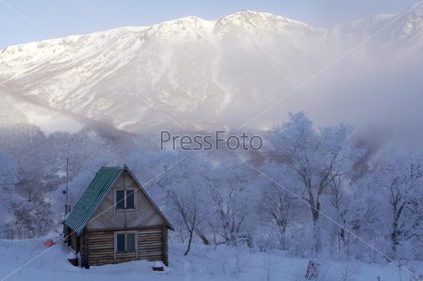 Фотография на тему Маленький дом в лесу