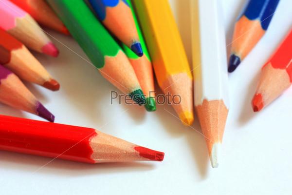 Разноцветные карандаши