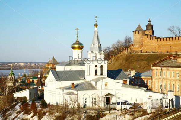 Церковь Ильи Пророка и Кремль, Нижний Новгород? Россия