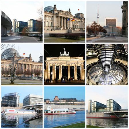Фотография на тему Коллаж, Берлин
