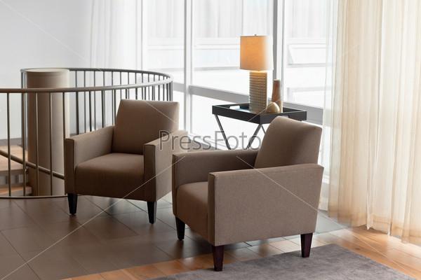 Фотография на тему Роскошный интерьер отеля в скандинавском стиле