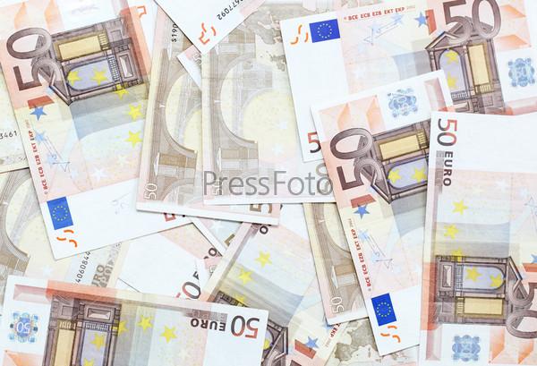 Фотография на тему Банкноты 50 евро