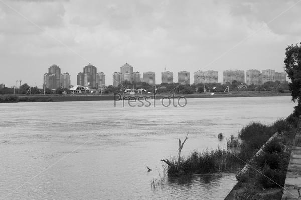 Фотография на тему Река и город