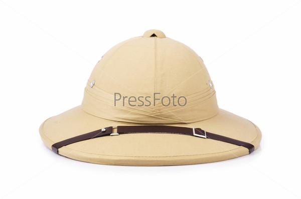 Шляпа для сафари, изолированная на белом