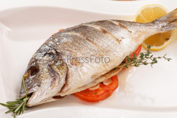 Фотография на тему Запеченная рыба