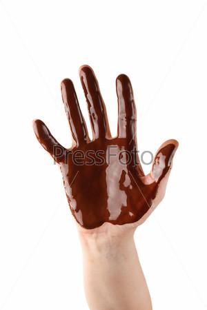 Шоколадная рука