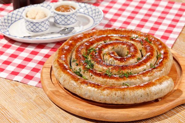 Жареная колбаса