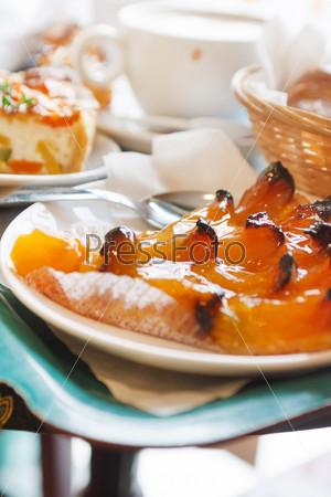Фотография на тему Абрикосовый пирог