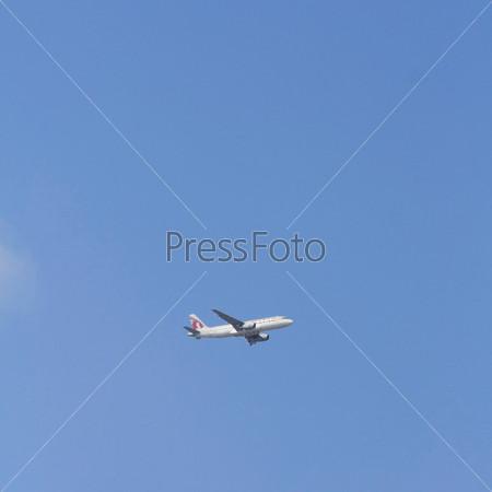 Фотография на тему Самолет в небе