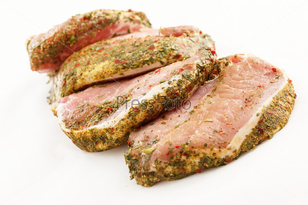Мясо с пряностями