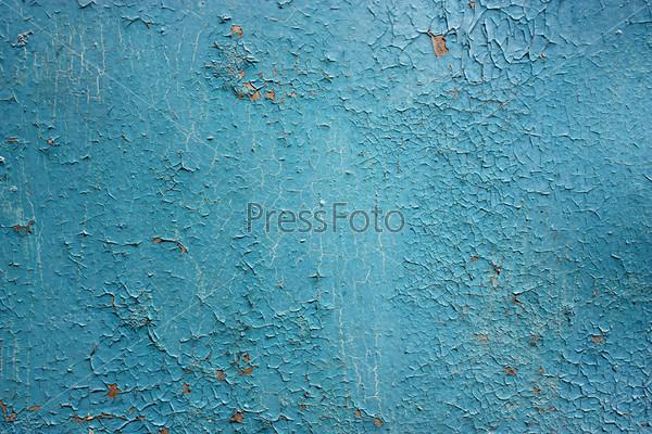 Синий гранж-фон
