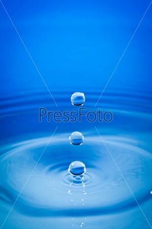Капли воды