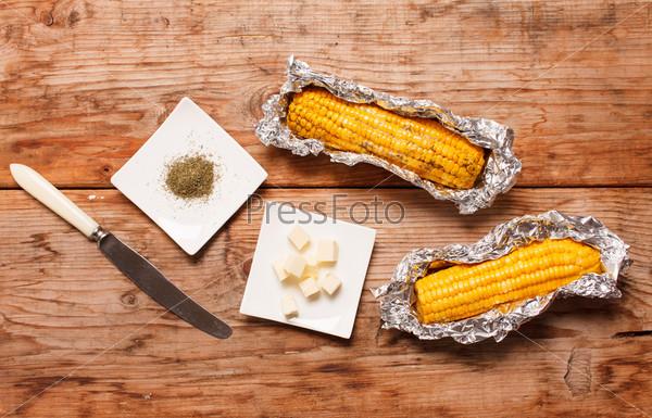 Кукуруза с маслом