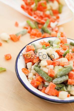 Замороженные овощи