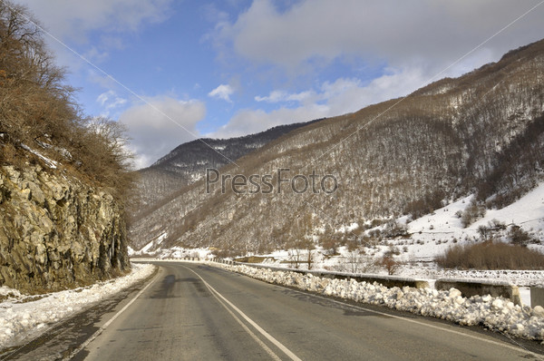 Фотография на тему Часть военной грузинской дороги