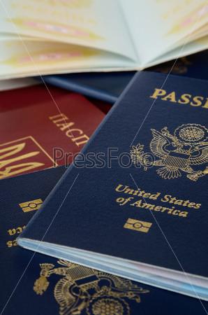 Фотография на тему Открытый и закрытый паспорт