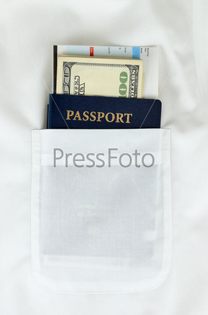 Паспорт, деньги и посадочный талон