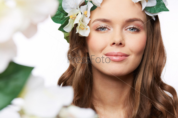 Весенний портрет