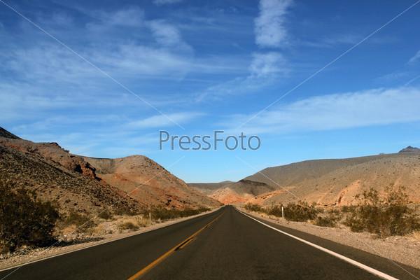 Фотография на тему Долина смерти в штате Невада
