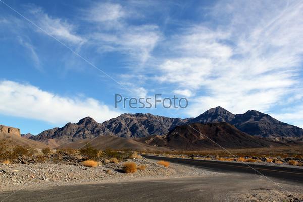 Долина смерти в штате Невада