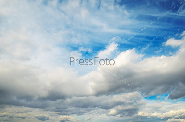 Пушистые облака