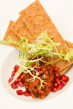 Фотография на тему Хлебцы с соусом