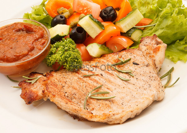 Фотография на тему Курица с овощами