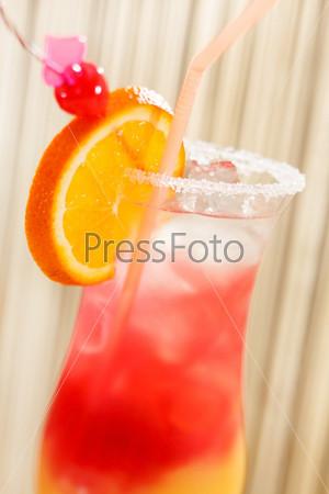 Фотография на тему Коктейль с апельсином