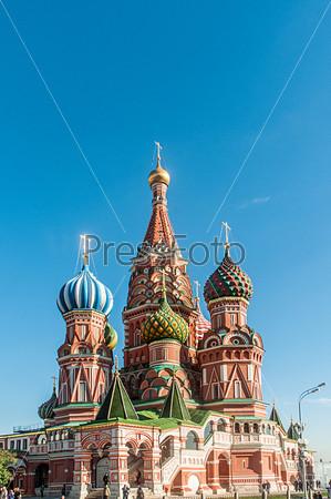 Фотография на тему Собор Василия Блаженного в Москве
