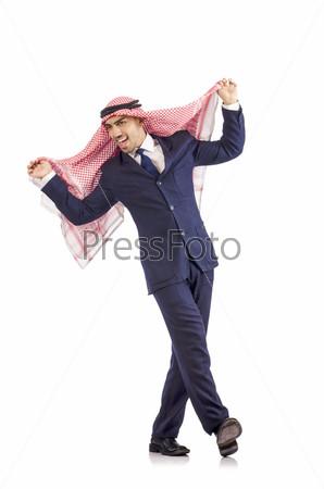 Фотография на тему Араб танцует от радости