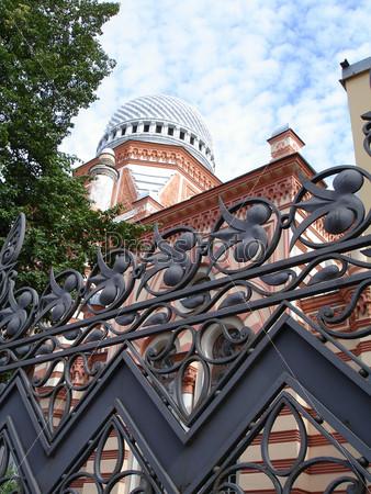 Фотография на тему Большая хоральная синагога. Санкт-Петербург