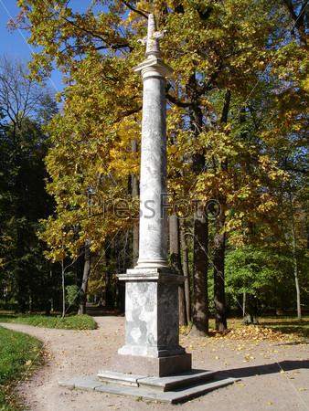 Морейская колонна. Екатерининский парк. Царское село