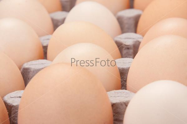 Яйца как фон