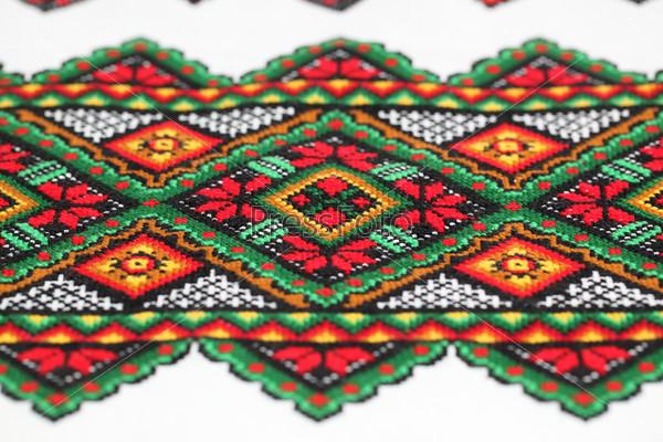 Этническая украинская вышивка