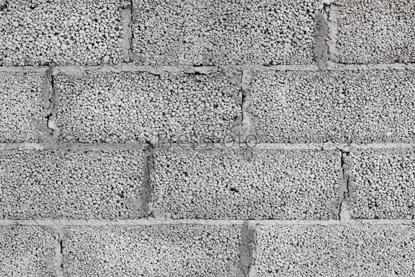 Современные стены из бетонных блоков