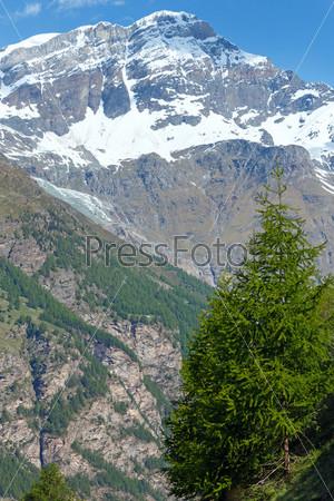 Летние Альпы