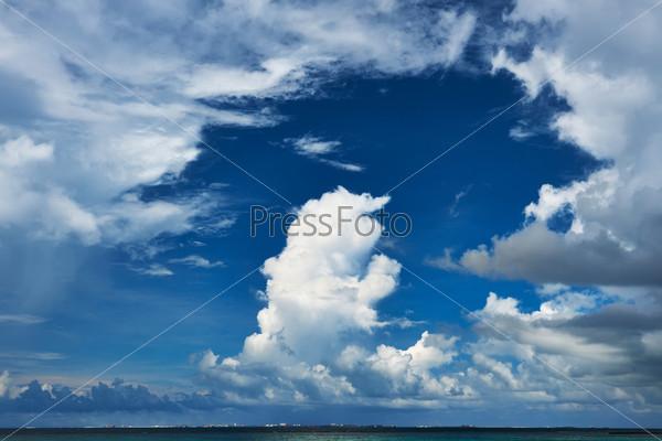 Красивое небо, Мальдивы
