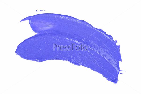 Мазок краски или крем