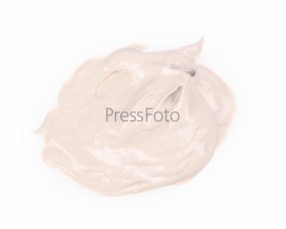 Мазок краски или крема