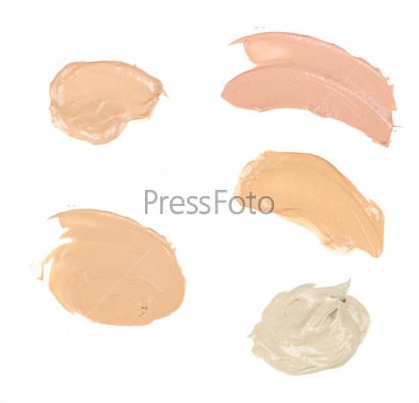 Фотография на тему Мазки краски или крема