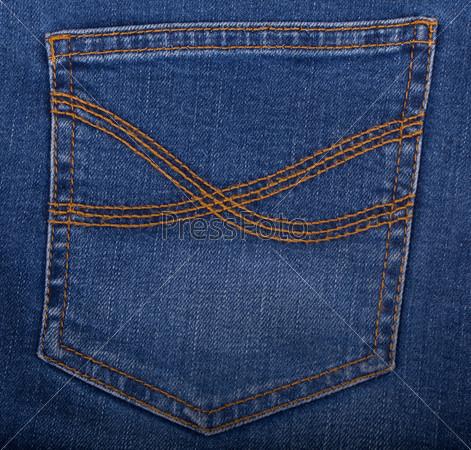 Фотография на тему Карман джинсов
